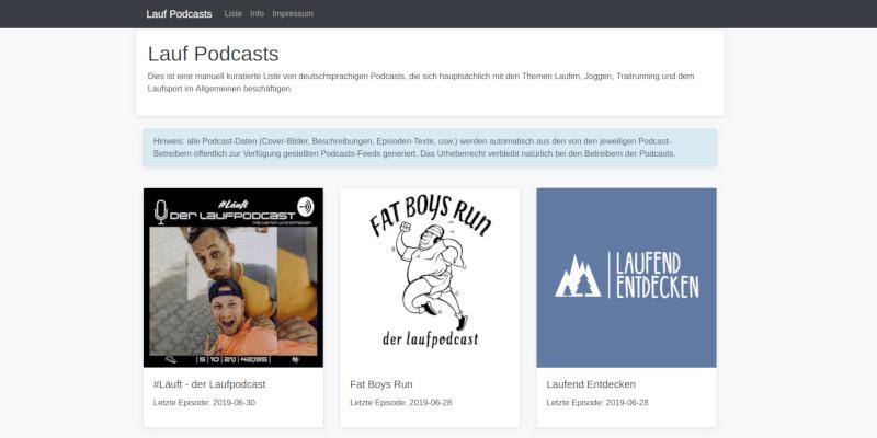 Lauf Podcast Aggregator